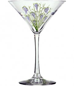 8 oz Martini-Grape Vines