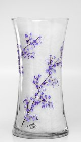 "8"" Gathering Vase-Cherry Blossom"