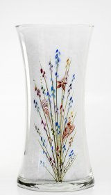 "8"" Gathering Vase-Seashells"